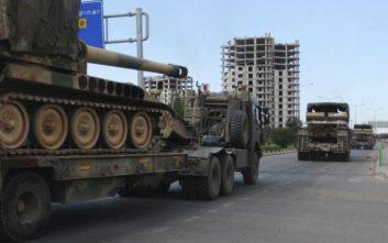 Η Τουρκία στέλνει νέες στρατιωτικές ενισχύσεις στη Συρία