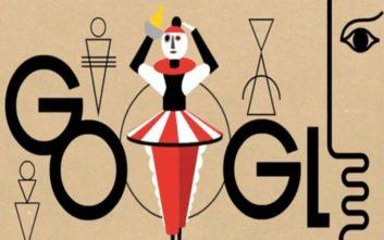 Τον εμπνευστή του «Τριαδικού Μπαλέτου» τιμά με το σημερινό της doodle η Google