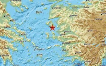 Σεισμός τώρα στη Μυτιλήνη