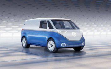 Volkswagen I.D. Buzz Cargo, ένα ηλεκτρικό πρωτότυπο van με τεράστιους χώρους