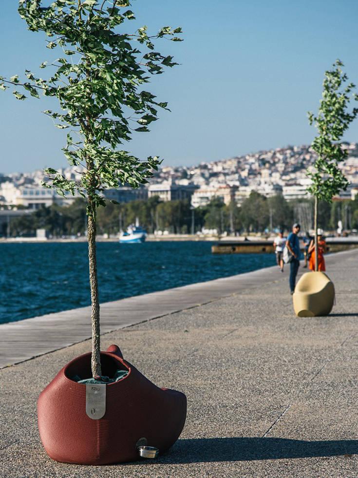 Κάτι πολύχρωμο συμβαίνει στην πόλη της Θεσσαλονίκης