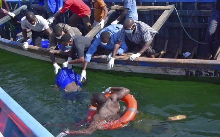 Για τρίτη ημέρα ανασύρουν νεκρούς από τη λίμνη της Τανζανίας