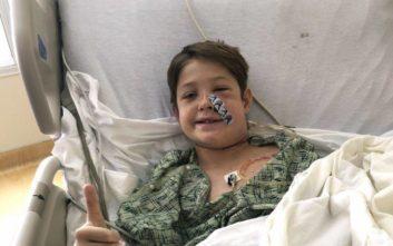 Η απίθανη ανάρρωση του παιδιού που ένα μεταλλικό ραβδί του διαπέρασε το κεφάλι