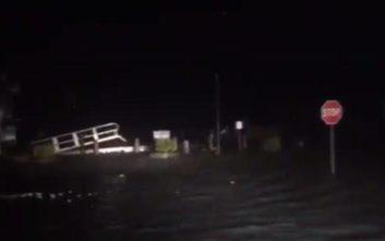 Σαρώνει τη Βόρεια Καρολίνα ο τυφώνας Φλόρενς