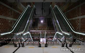 «Βόλτα» στο υπόγειο εργοτάξιο του μετρό της Θεσσαλονίκης