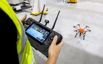 Τα drones στην υπηρεσία των εργαζομένων