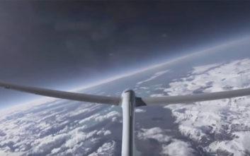 Ένα πειραματικό ανεμοπλάνο σπάει το ρεκόρ υψομέτρου