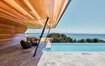 Ένα σπίτι-κομψοτέχνημα που μοιάζει με γλυπτό