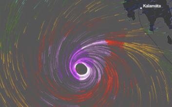 Την Αττική ενδέχεται να πλήξει ο Μεσογειακός Κυκλώνας