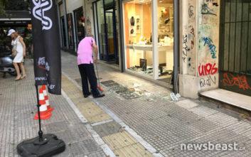 Νεκρός ο άνδρας που επιχείρησε να ληστέψει κοσμηματοπωλείο στην Αθήνα