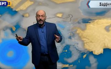 Για ενδεχόμενο Μεσογειακό Κυκλώνα στην Ελλάδα προειδοποιεί ο Σάκης Αρναούτογλου