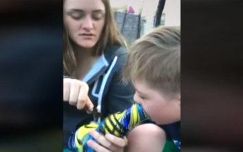 Νταντάδες έβαζαν παιδί με σύνδρομο Down να καπνίσει και το κακοποιούσαν