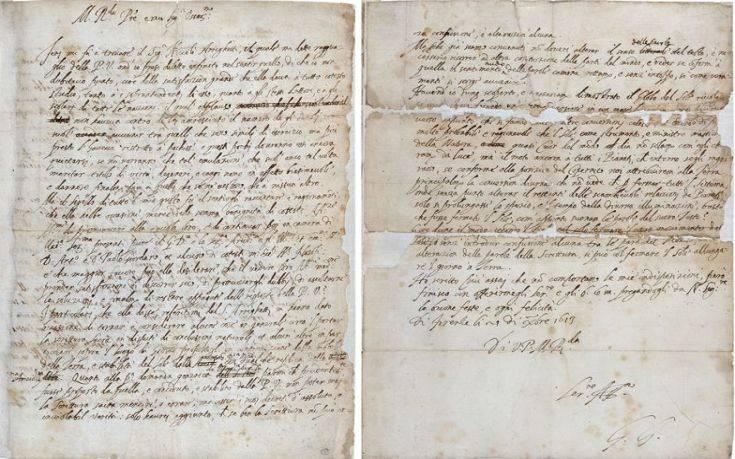Η ιστορική χαμένη επιστολή του Γαλιλαίου και τι αποκαλύπτει για την Ιερά Εξέταση