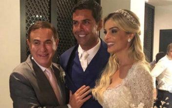 Ο χλιδάτος γάμος του πρώην συζύγου της Αθηνάς Ωνάση