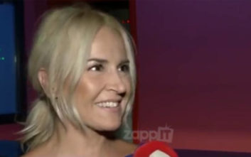 Άφωνη η Μαρία Ανδρούτσου με αυτό που της είπε ο ρεπόρτερ