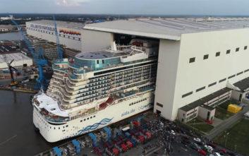 To κρουαζιερόπλοιο των 700 εκατ. ευρώ που χαρακτήρισαν πλωτή πολιτεία