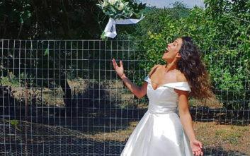 5188521fbfa0 Η Κατερίνα Στικούδη έγινε θέμα στην Daily Mail για τον χορό της με το νυφικό