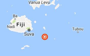 Σεισμός μεγάλης ισχύος στη θαλάσσια περιοχή των Νησιών Φίτζι