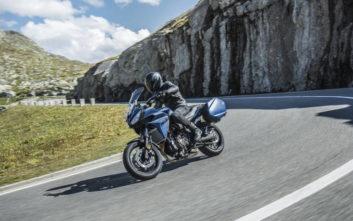 Με... ταξιδιάρα ψυχή η νέα Yamaha Tracer 700GT