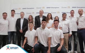 Έντεκα «ΟΠΑΠChampions» από τη νέα γενιά αθλητών