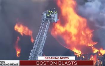 Ένας νεκρός και 12 τραυματίες σε εκρήξεις και πυρκαγιές στη Βοστόνη