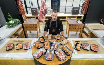 Aggelis Meatworks, μια ενημερωμένη μπουτίκ κρεάτων στη Γλυφάδα