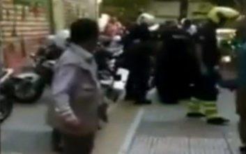 Νέο βίντεο καταγράφει τη στιγμή που ακινητοποιήθηκε ο Ζακ Κωστόπουλος