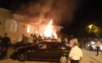 Φωτιά παραλίγο να χαλάσει γαμήλιο γλέντι έξω από τη Λάρισα