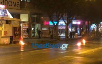 Επεισόδια και μολότοφ στην πορεία για τον Παύλο Φύσσα στη Θεσσαλονίκη