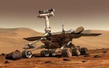 «Αργοπεθαίνει» το Opportunity στον Άρη