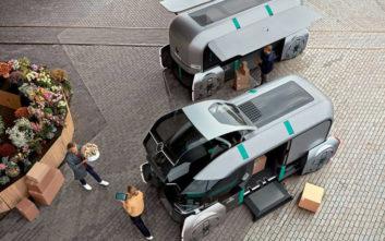 Ένα ρομποτικό όχημα για τις αστικές διανομές