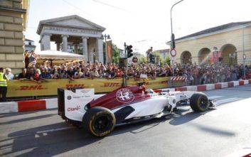 Στο «F1 Unleash» στο Μιλάνο η Alfa Romeo