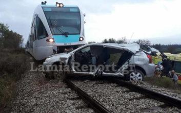 Καθηγητές σε σχολείο οι επιβάτες του αυτοκινήτου που συγκρούστηκε με τρένο στη Φθιώτιδα