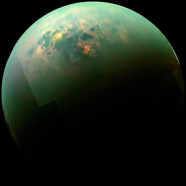 Γιγάντιες αμμοθύελλες σαρώνουν τον μεγαλύτερο δορυφόρο του Κρόνου