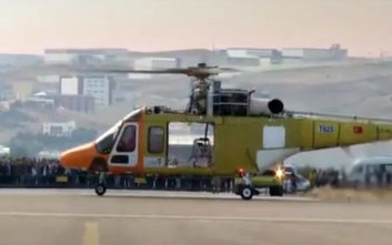Στον αέρα το πρώτο τουρκικής σχεδίασης και κατασκευής ελικόπτερο