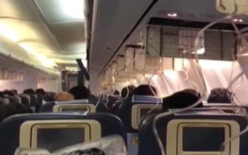 Αίμα έτρεχε από τις μύτες και τα αυτιά των επιβατών σε πτήση αεροπλάνου