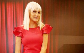 Φωτιά στα κόκκινα η Σάσα Σταμάτη στο τρέιλερ για την εκπομπή της