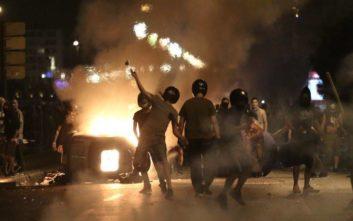 Τα στοιχεία του ΕΚΑΒ για τα χθεσινά επεισόδια στη Θεσσαλονίκη