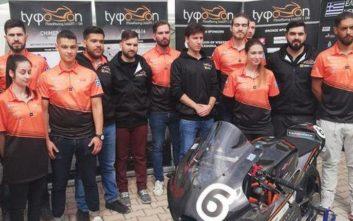 Σε αγώνες στην Ισπανία Έλληνες φοιτητές με το πρώτο ελληνικό αγωνιστικό Moto GP-3