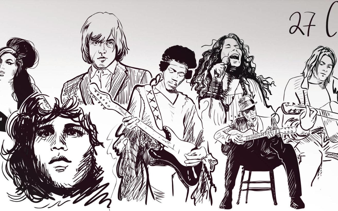 Η κατάρα του «club των 27» και οι θρύλοι της μουσικής που έζησαν σύντομη ζωή