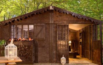 Το απίθανο σοκολατένιο σπίτι όπου μπορείς να μείνεις!
