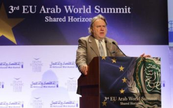 Κατρούγκαλος: Η Ελλάδα γέφυρα μεταξύ της Ευρώπης και του αραβικού κόσμου