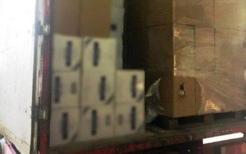 Κατασχέθηκαν 320.000 λαθραία πακέτα τσιγάρα σε αποθήκη στα Μέγαρα