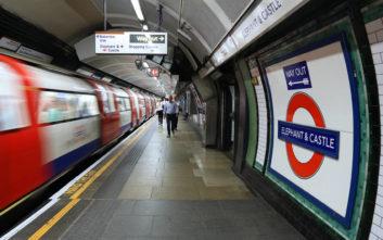 Έκλεισαν οι σταθμοί του Μετρό του Λονδίνου λόγω σκόνης στις αποβάθρες