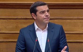 Τσίπρας: Πετύχαμε εκεί που τρεις συνεχόμενες κυβερνήσεις απέτυχαν παταγωδώς
