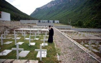 Ενταφιάστηκαν στα στενά της Κλεισούρας 573 ήρωες του Έπους του '40