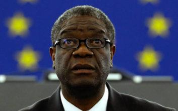 Η αφιέρωση του Ντένις Μουκουέγκε για το Νόμπελ Ειρήνης