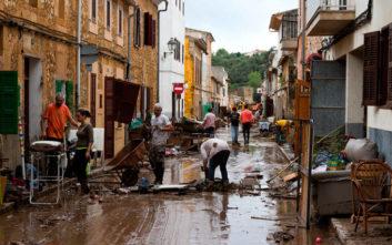 Στους 12 οι νεκροί από τις πλημμύρες στη Μαγιόρκα