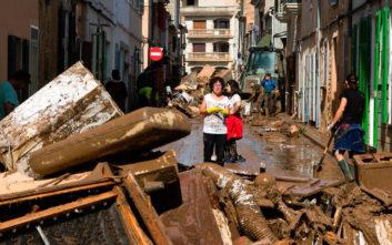 Τουλάχιστον 12 οι νεκροί από τις πλημμύρες στη Μαγιόρκα