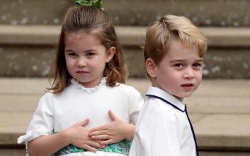 Η πριγκίπισσα Σάρλοτ «έκλεψε» ξανά την παράσταση με τα σκέρτσα της